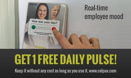 Measure at no cost - Daily Pulse real time employee trends