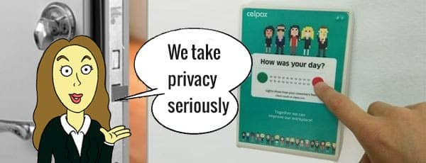 The Celpax Privacy Guarantee