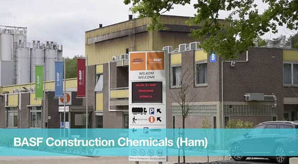 The BASF approach to improve work culture, Constructions Chemicals, Belgium, Ham