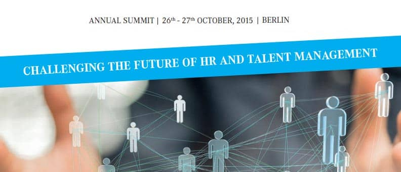Global Talent Management Leaders Summit in Berlin