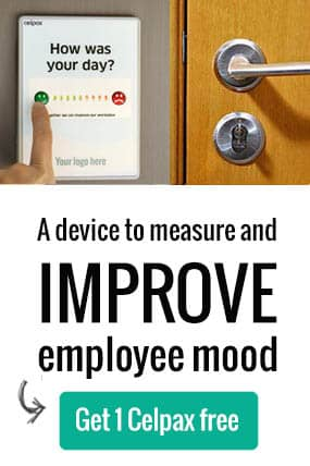 Improve employee morale in real time with a Celpax