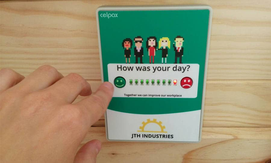 Pulse checker for staff real time