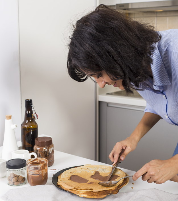 Pancake Day, CEO makes pancakes for the employees
