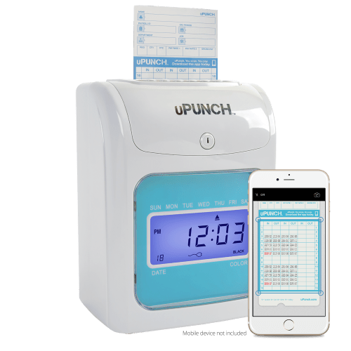 Electronic Time Clock to punch out