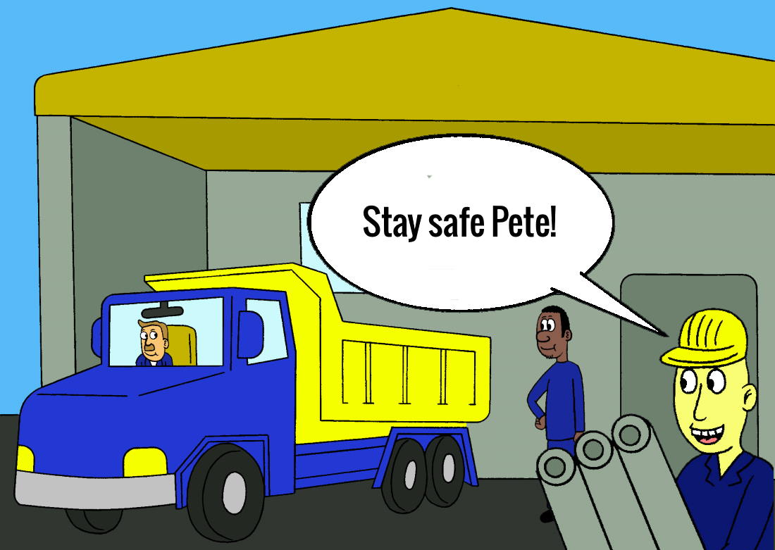 Safe driving for employees