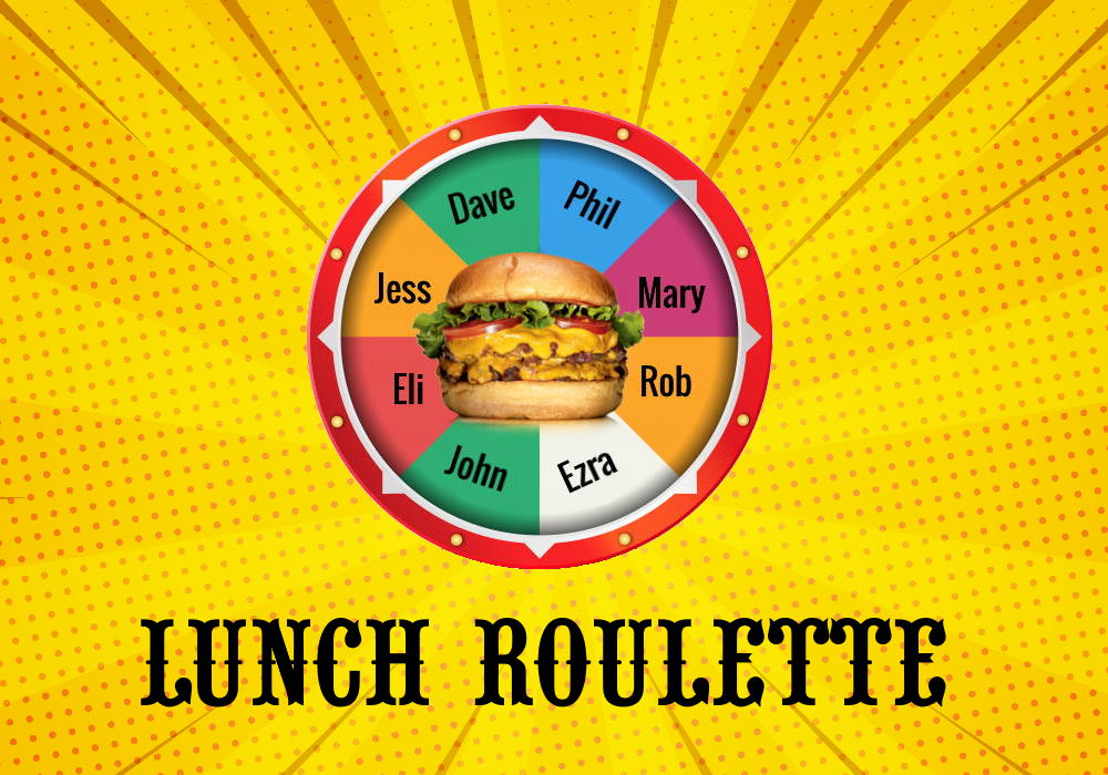 Lunch Roulette – Get to know your colleagues better