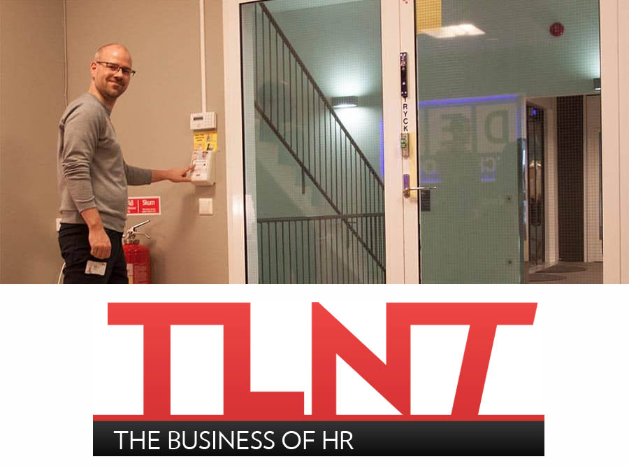 TLNT features the Daily Pulse employee mood button