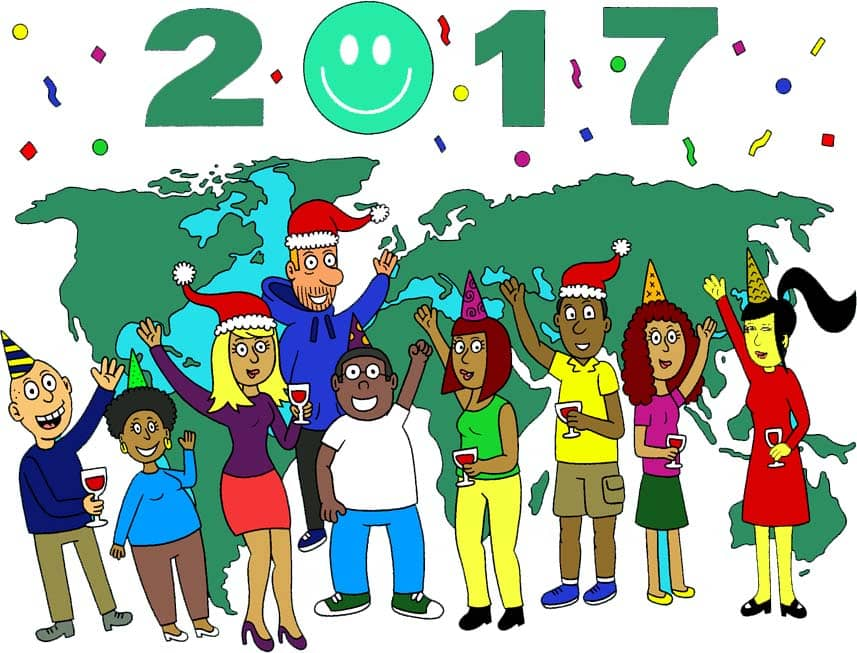 The Celpaxers wish you 365 green button days for 2017!
