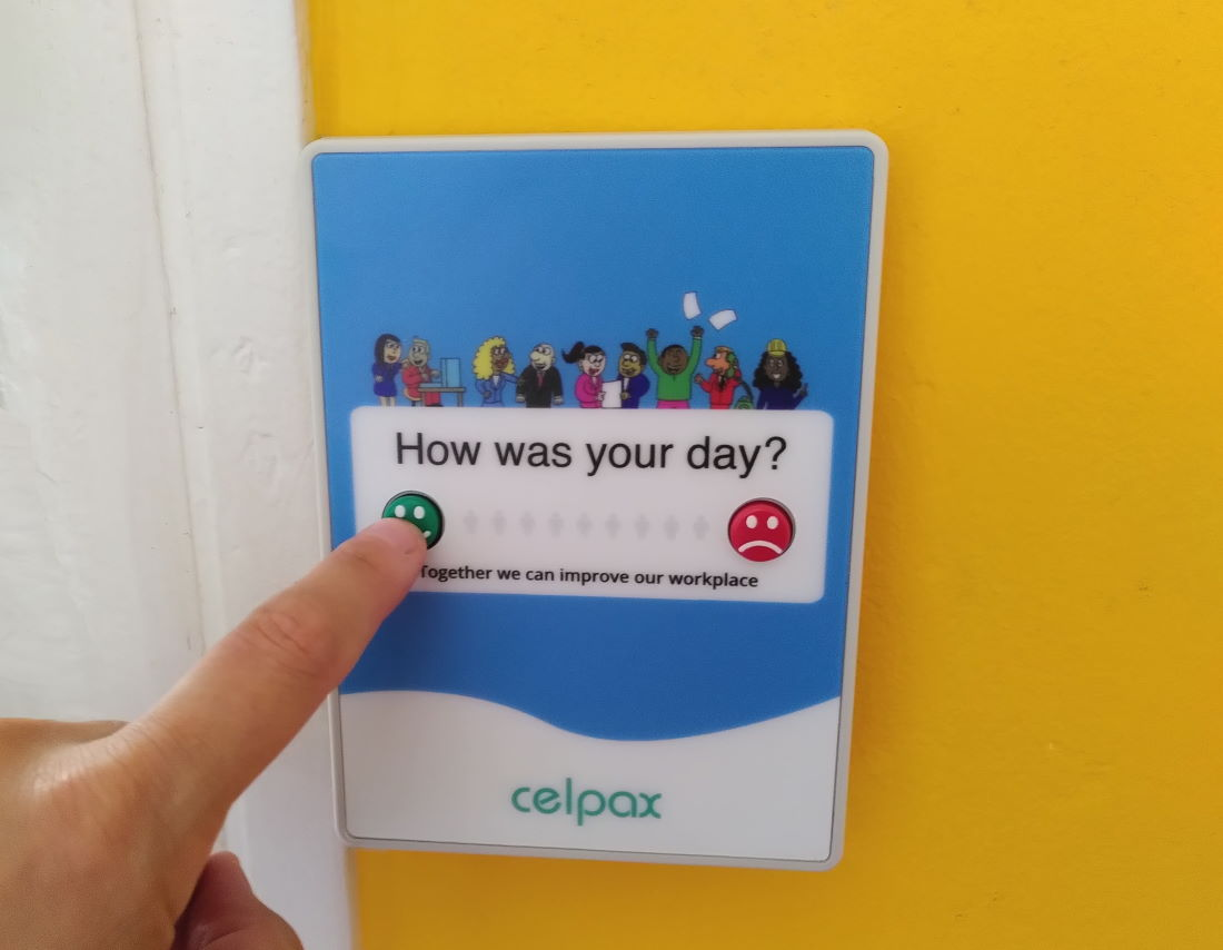Get ongoing employee feedback with a kiosk survey